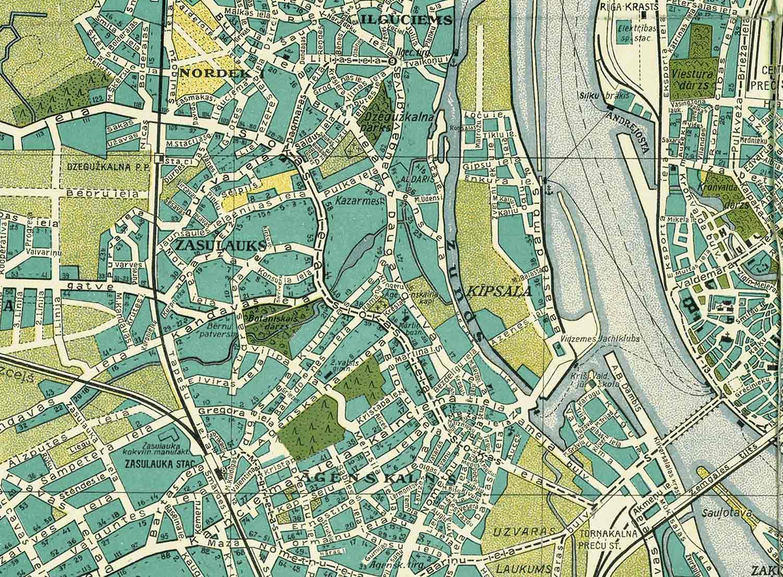 Riga Subway Map.Underground Riga